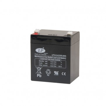 Battery cell 12V 5.4Ah MSP-A-AH-00900