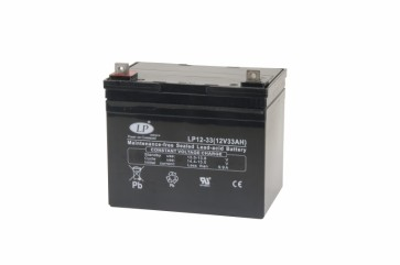 Battery 12V 33Ah T5 terminal MSP-A-EMB-00400