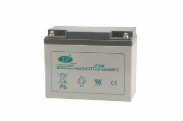 Battery 12V 55Ah T6 terminal MSP-A-EMB-00600
