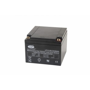 Battery 12V 28Ah T3 terminal MSP-A-FRD-00200