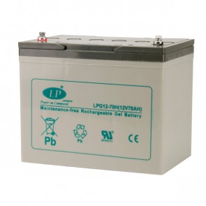Battery 12V 70Ah GEL T5 terminal MSP-A-FRD-00600