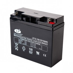 Battery 12V 18Ah T2 terminal MSP-A-SCO-00300