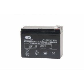 Battery 12V 10Ah T2 terminal MSP-A-EMB-00100