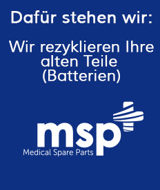 Rezyklieren alte Teile | Medical Spare Parts