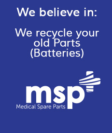 Old Batteries Recycling | Medical Spare Parts