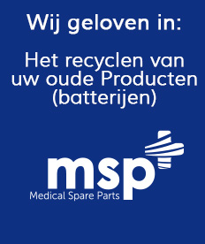 Recycle Uw Accu's | Medical Spare Parts