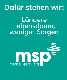 Langere Lebensdauer | Medical Spare Parts