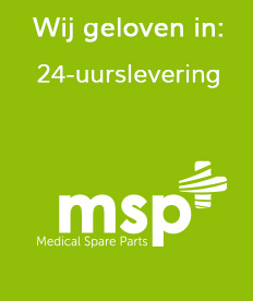 24 Uurs Levering | Medical Spare Parts